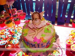 fairy cake up close