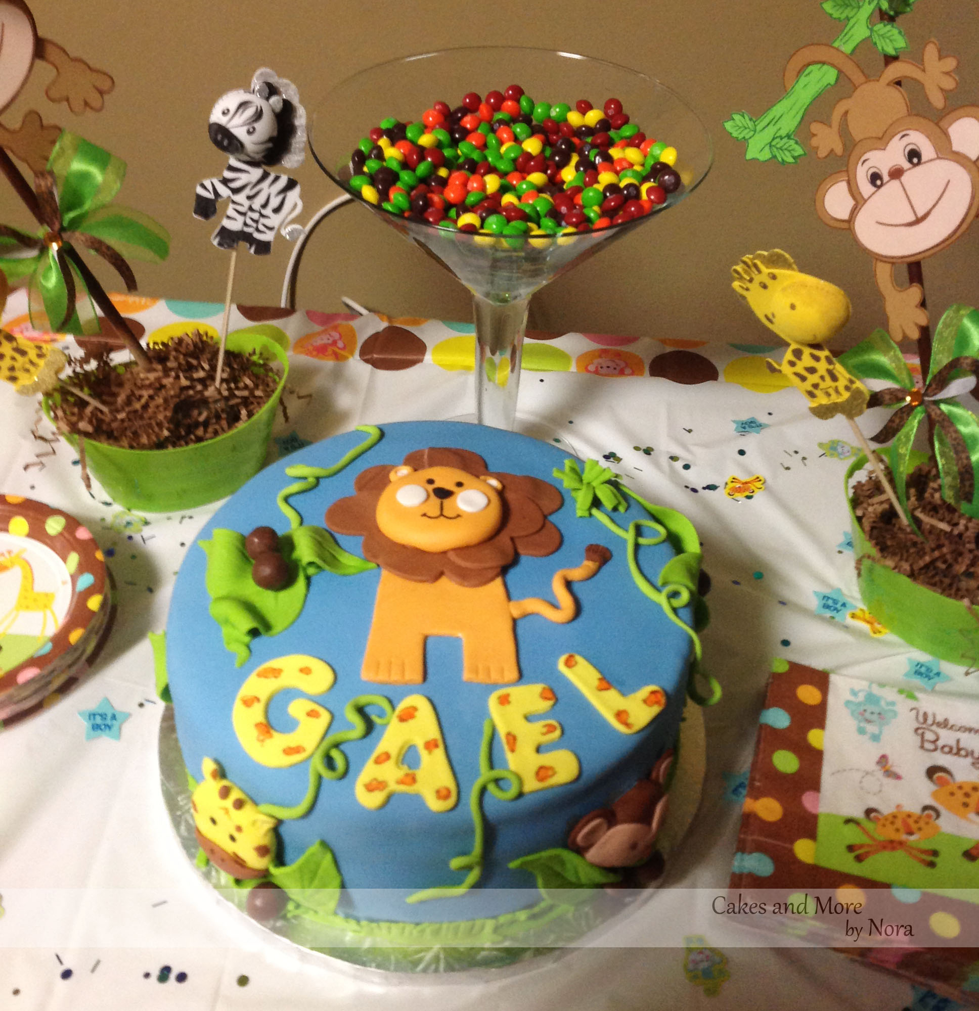 jungle safari boy baby shower themes and baby shower themes