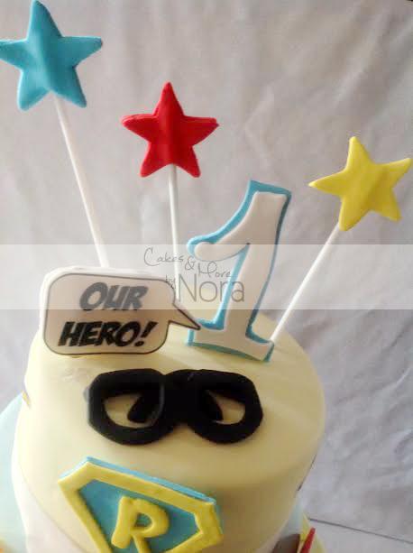 superman cake6