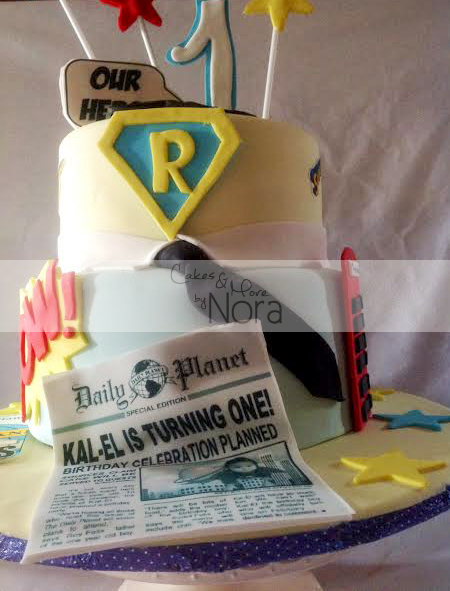 superman cake7